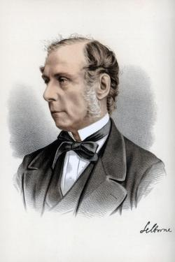 Roundell Palmer, 1st Earl of Selborne, British Lawyer and Liberal Politician, C1890 by Petter & Galpin Cassell