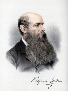 Sir Wilfrid Lawson, British Politician and Temperance Campaigner, C1890 by Petter & Galpin Cassell