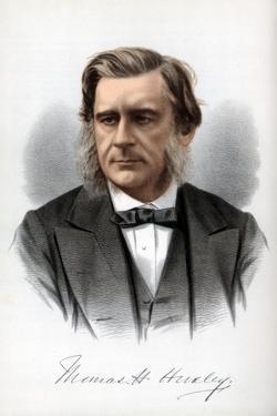 Thomas Henry Huxley, English Biologist, C1890 by Petter & Galpin Cassell