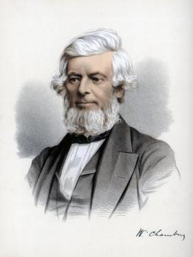 William Chambers of Glenormiston, Scottish Publisher and Politician, C1890 by Petter & Galpin Cassell
