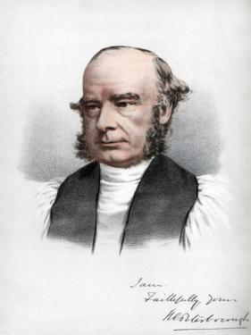 William Connor Magee, Irish Clergyman of the Anglican Church, C1890 by Petter & Galpin Cassell