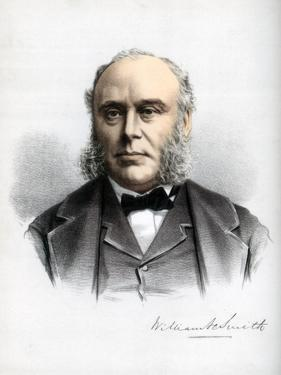 William Henry Smith, British Politician, C1890 by Petter & Galpin Cassell