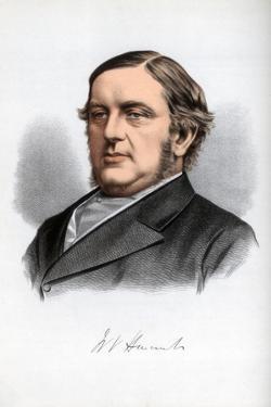 William Vernon Harcourt, British Liberal Statesman, C1890 by Petter & Galpin Cassell