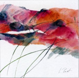 Modern Poppy II by Peuchert