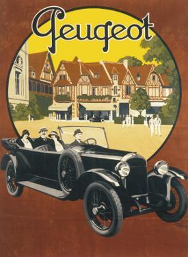 Peugeot Advertising Poster