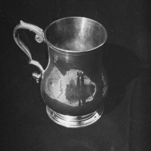 Pewter or Silver Mug from the American Colonial Period