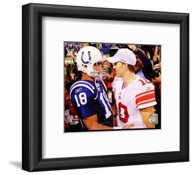 Peyton Manning & Eli Manning 2010 Action