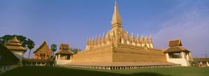 Pha That Luang Temple, Vientiane, Laos