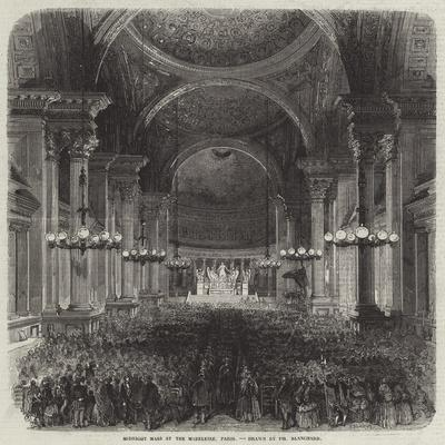 Midnight Mass at the Madeleine, Paris