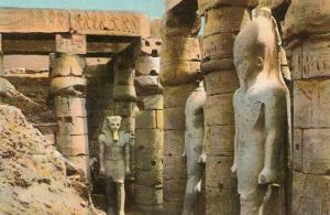 Pharaoh Statues, Luxor, Egypt