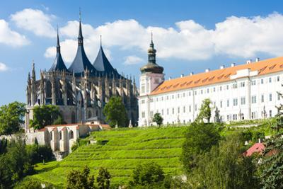 Cathedral of St. Barbara and Jesuit College, Kutna Hora, Czech Republic by phbcz