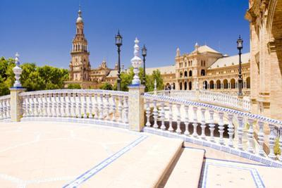 Spanish Square (Plaza De Espana), Seville, Andalusia, Spain by phbcz