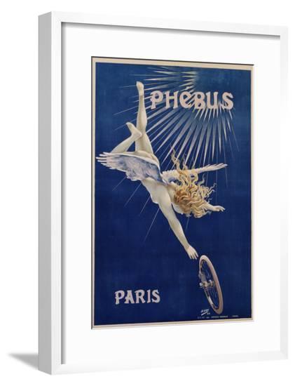 Phebus Paris Poster by Henri Gray--Framed Giclee Print