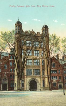 Phelps Gateway, Yale, New Haven, Connecticut