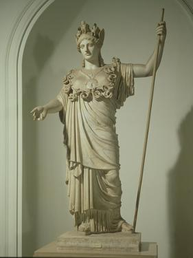 Roman Replica of the Athena Farnese by Phidias