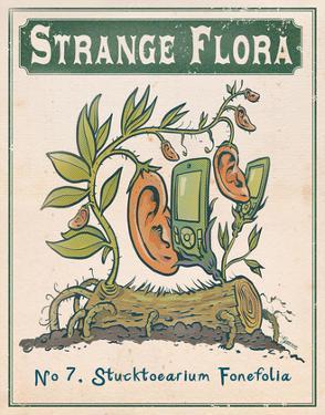No.7 Stucktoearium Fonefolia by Phil Garner