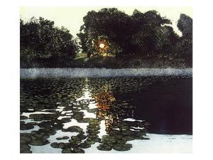 Poolside II by Phil Greenwood