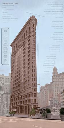 Flatiron Architecture by Phil Maier