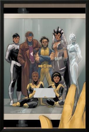 Astonishing X-Men #68 Cover: Wolverine, Gambit, Warbird, Iceman, Northstar, Reyes, Cecilia, Karma by Phil Noto
