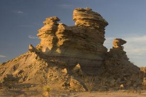 A Sculpted Sandstone Hoodoo in the Tornillo Creek Drainage of Big Bend National Park, Texas by Phil Schermeister