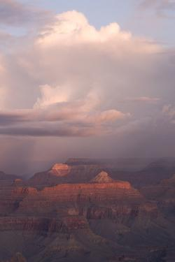 A View of the Grand Canyon from Mather Point on the South Rim by Phil Schermeister