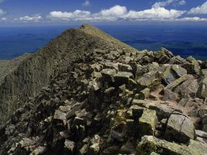 Mount Katahdin, Appalachian Trail, Maine by Phil Schermeister