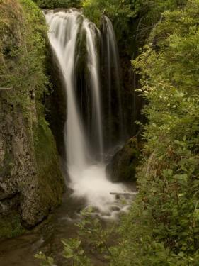 Roughlock Falls in Spearfish Canyon, Black Hills National Forest by Phil Schermeister