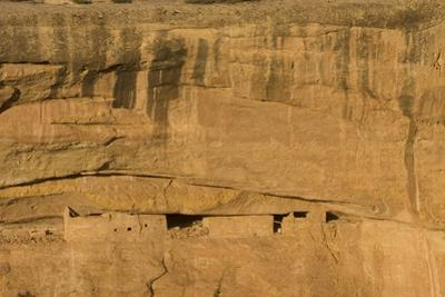 Ruins of a Cliff Dwelling, Sunset House, in Mesa Verde National Park by Phil Schermeister
