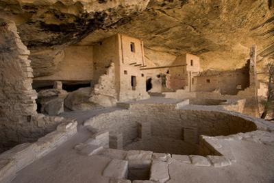 The Balcony House in Mesa Verde National Park by Phil Schermeister