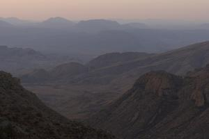 The Chisos Mountains in Big Bend National Park, Texas by Phil Schermeister