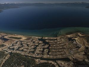The Development of Tahoe Keys on Lake Tahoe, California by Phil Schermeister