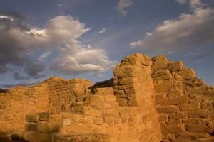 The Far View Ruins in Mesa Verde National Park by Phil Schermeister