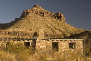 The Homer Wilson Ranch in Big Bend National Park, Texas by Phil Schermeister