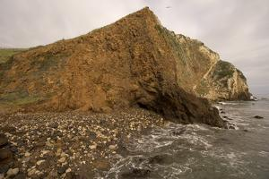 The Shoreline on the North Side of Santa Cruz Island in Channel Islands National Park by Phil Schermeister