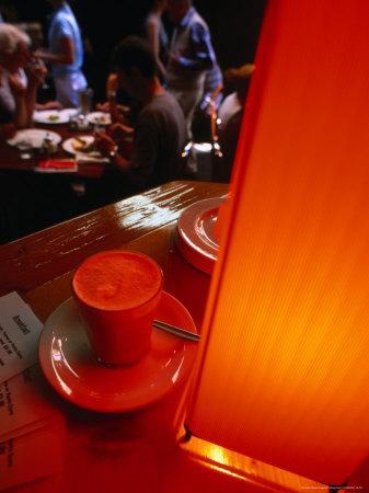 Caffe Latte from Melbourne's Caffe Cortile in the Block Arcade, Melbourne, Victoria, Australia