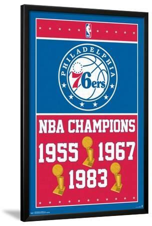 """Philadelphia 76ers Logo poster 22.5 x 34/"""""""