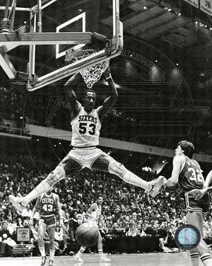 Philadelphia 76ers - Darryl Dawkins Photo
