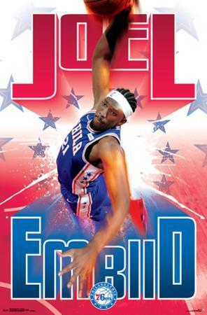 Philadelphia 76ers - J Embiid 17