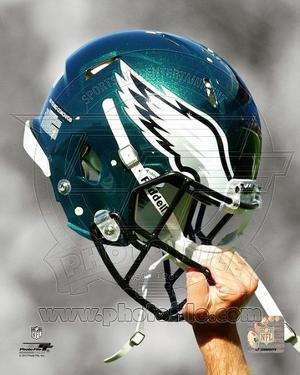 Philadelphia Eagles Helmet Spotlight