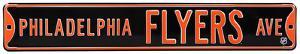 Philadelphia Flyers Ave Steel Sign
