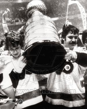 Philadelphia Flyers - Bernie Parent, Bobby Clarke Photo