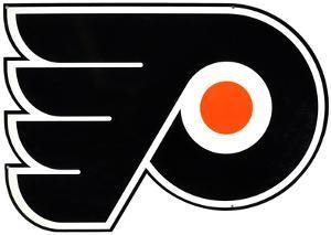 Philadelphia Flyers Lasercut Steel Logo Sign