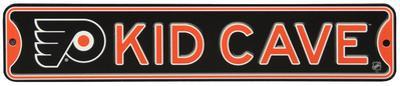 Philadelphia Flyers Steel Kid Cave Sign