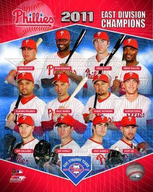 Philadelphia Phillies 2011 NL East Champions Composite