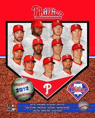 Philadelphia Phillies 2012 Team Composite