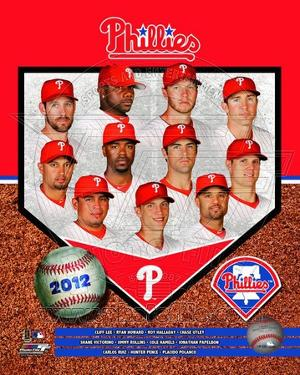 Philadelphia Phillies 2012 Team Composite