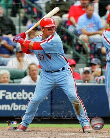 Philadelphia Phillies - Carlos Ruiz 2011 Action