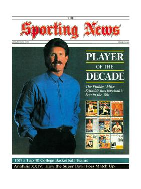 Philadelphia Phillies Legend Mike Schmidt - January 29, 1990