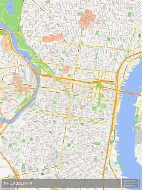 Philadelphia, United States of America Map