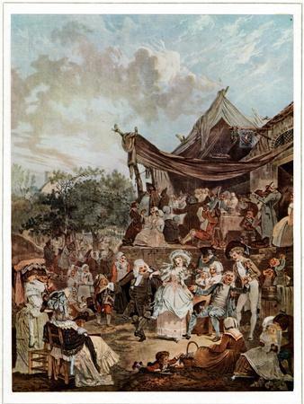 ' Le Menuet de la Mariee ' 1786